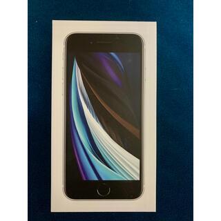 iPhone - 【新品】iPhone SE 第二世代 64GB simロック解除済み