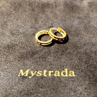 マイストラーダ(Mystrada)の美品♡華やか♡ゴールドピアス(ピアス)