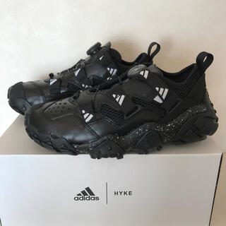 ハイク(HYKE)の即完売!adidas by HYKEアディダスバイハイクAH-002黒24cm(スニーカー)