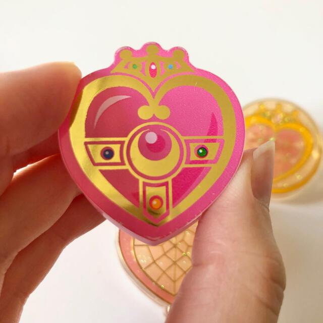 セーラームーン(セーラームーン)のセーラームーン🌙ちびムーン🎀アルテミス🐈クリップ4個💓 エンタメ/ホビーのおもちゃ/ぬいぐるみ(キャラクターグッズ)の商品写真