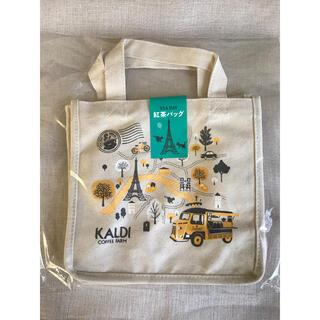 カルディ(KALDI)のカルディ 紅茶バッグ(トートバッグ)
