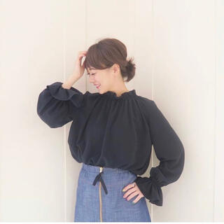 Chesty - 美品☆rosymonster☆neck cloud tops☆