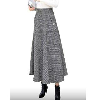 ハイウェストお嬢様ロングスカート 【1531】
