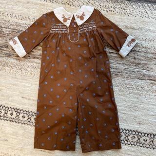 キャラメルベビー&チャイルド(Caramel baby&child )のapolina minnie ジャンプスーツ サロペット パンツ 2-3y(パンツ/スパッツ)