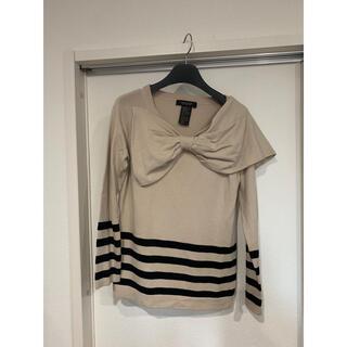 ダブルスタンダードクロージング(DOUBLE STANDARD CLOTHING)のdouble standard clothing ビッグリボンデザインセーター (ニット/セーター)