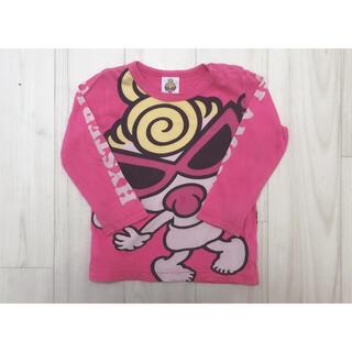ヒステリックミニ(HYSTERIC MINI)の最終値下げ HYSTERIC MINI ロンT 90 ピンク(Tシャツ/カットソー)