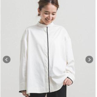 【新品】yori  ヨリ ハマグリ刺繍ブラウス 36