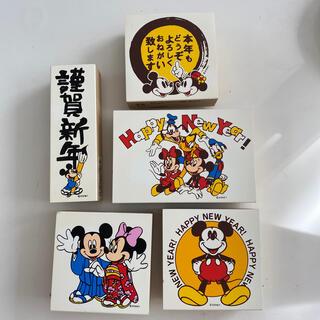 ディズニー(Disney)のディズニー ハンコセット(印鑑/スタンプ/朱肉)