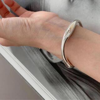 TODAYFUL - silver 925 waving bangle