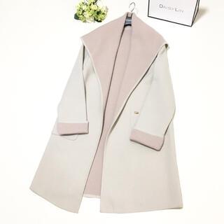 FOXEY - 美品 定価17万円 フォクシー FOXEY 美しい女優襟   ウール コート