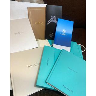Tiffany & Co. - ブライダルリングカタログ&結婚式準備book