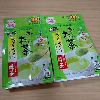 伊藤園 - 伊藤園 おーいお茶 さらさらパウダーティー 抹茶入り 緑茶 セット 新品