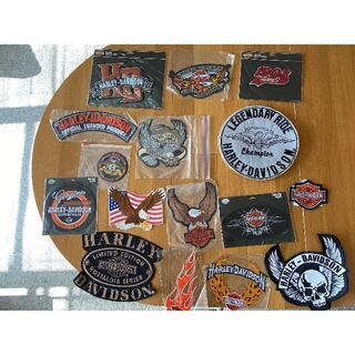 ハーレーダビッドソン(Harley Davidson)のハーレーダビッドソン ワッペン セット(その他)