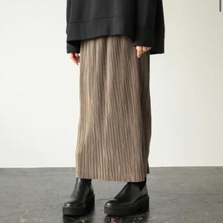 LOWRYS FARM - 試着のみ LOWRYSFARM ランダムプリーツタイトスカート