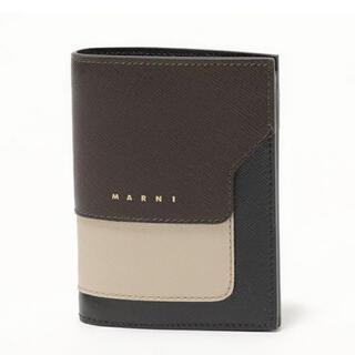 マルニ(Marni)のMARNI 二つ折り財布 新品未使用(財布)