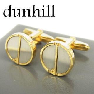 ダンヒル(Dunhill)のダンヒル dunhill dロゴ ラウンド型 カフス カフリンクス アクセサリー(カフリンクス)