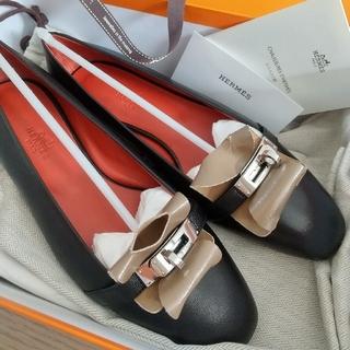Hermes - 今期新作 エルメス ケリー フラットシューズ 靴 バレエシューズ 新品未使用