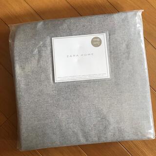 ザラホーム(ZARA HOME)の新品未使用✨Zara Home ボックスシーツ 冬 セミダブル✨(シーツ/カバー)