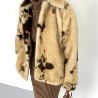 EDIT.FOR LULU - nugu leopard coat 🧥