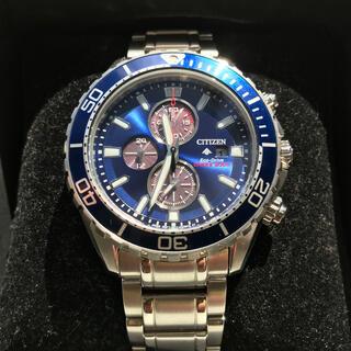 シチズン(CITIZEN)の美品 CITIZEN  CA0710-91L   PROMASTER  ダイバー(腕時計(アナログ))