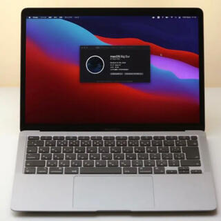 Mac (Apple) - 最新Macbook Air 2020 M1 16GB 512GB スペースグレイ