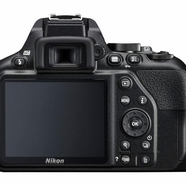 Nikon(ニコン)のNikon D3500+70-300mmズームレンズセット スマホ/家電/カメラのカメラ(デジタル一眼)の商品写真