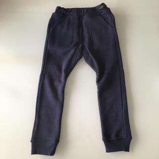 エフオーキッズ(F.O.KIDS)のあったかズボン 裏フリース 110 紺 ネイビー 男女(パンツ/スパッツ)