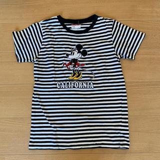 ディズニー(Disney)のミニー Mサイズ ボーダーTシャツ(Tシャツ(半袖/袖なし))