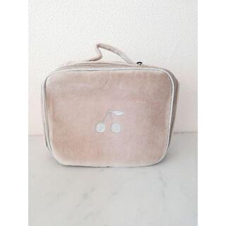 ボンポワン(Bonpoint)の新品【Bonpoint】(S)スーツケース ベロア ベージュ(その他)
