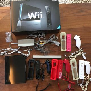 Wii - Nintendo Wii 本体 リモコン&ヌンチャク4セット はじめてのWii