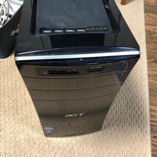 ASUS - ASUS ASPIRE M3970 デスクトップPC キーボード マウス付