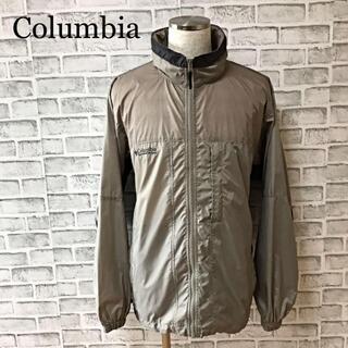 コロンビア(Columbia)のコロンビア 90s ナイロンジャケット フード付き 刺繍ロゴ(ナイロンジャケット)