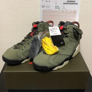 Nike Travis Scott Air Jordan 6 Retro SP(スニーカー)