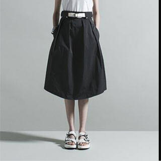 THE RERACS ベルト付きスカート