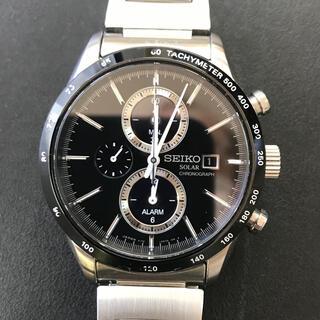 セイコー(SEIKO)の腕時計 メンズ クロノグラフ   ソーラー  セイコー(腕時計(アナログ))
