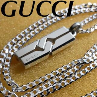 Gucci - 美品‼️社外チェーン付き❗️GUCCI ノットペンダント