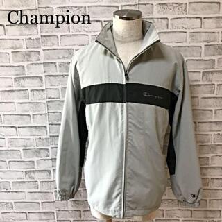 チャンピオン(Champion)のチャンピオン 90s フルジップジャケットブルゾン ジャンパー ロゴ刺繍(ブルゾン)