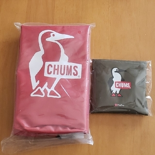 CHUMS - CHUMS 付録 2点セット エコバッグ&ドライバッグ