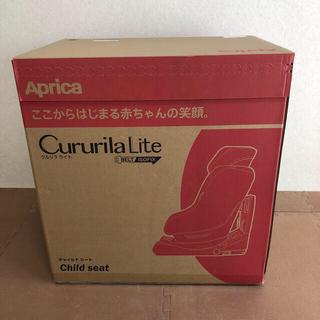 アップリカ(Aprica)の新品 未使用 アップリカ クルリラライト グレー(自動車用チャイルドシート本体)