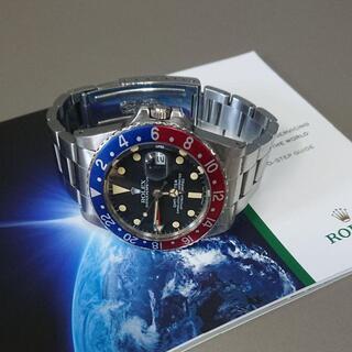 ROLEX - ロレックス・GMTマスター 16750