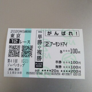 競馬 ジャパンカップ アーモンドアイ 馬券
