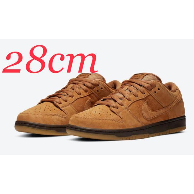 NIKE(ナイキ)の28cm NIKE SB DUNK LOW PRO WHEAT MOCHA メンズの靴/シューズ(スニーカー)の商品写真