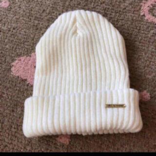 アズールバイマウジー(AZUL by moussy)のAZULbymoussy ニット帽(ニット帽/ビーニー)