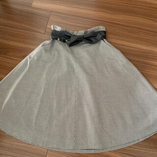 フェルゥ(Feroux)のFeroux チェック スカート(ひざ丈スカート)