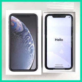 Apple - iPhone XR 128GB ブラック MT0G2J/A 国内版SIMフリー