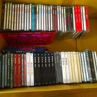 キスマイフットツー(Kis-My-Ft2)のキスマイ CD シングル アルバム バラ売り(ポップス/ロック(邦楽))