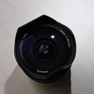 SONY - MINOLTA AF FISH-EYE 16mm 1:2.8(22) 魚眼レンズ