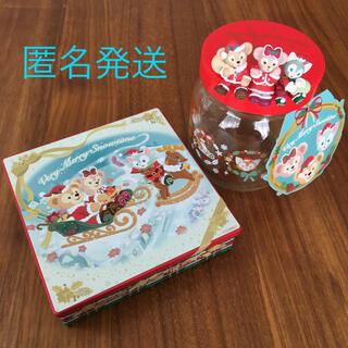 ダッフィー - ダッフィー クリスマス 瓶 缶