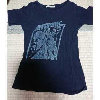 ヒステリックグラマー(HYSTERIC GLAMOUR)のヒステリックグラマー  tシャツ  黒(Tシャツ(半袖/袖なし))