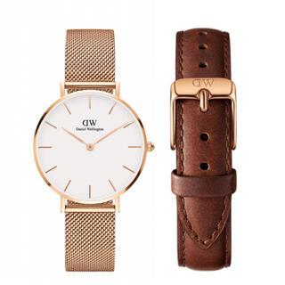Daniel Wellington - 【32㎜】ダニエル ウェリントン腕時計DW163+ベルトSET《3年保証付》